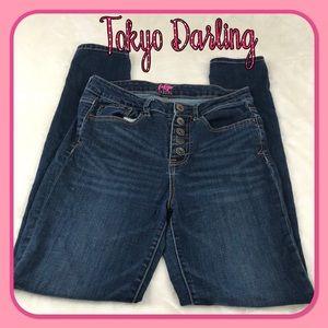 Tokyo Darling High Waisted Skinny leg Jegging